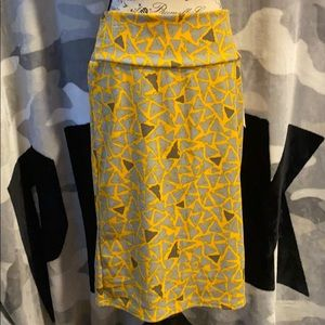 Lularoe large Cassie skirt with tags